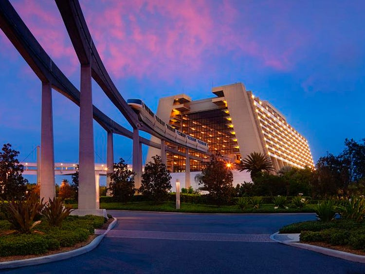 Contemporary Resort - Walt Disney World