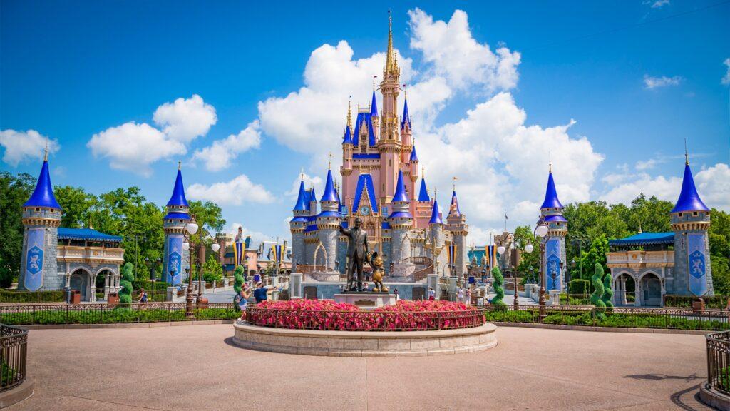 central-plaza-partners-cinderella-castle-zoom-background